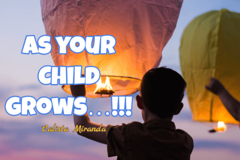 As your child grows