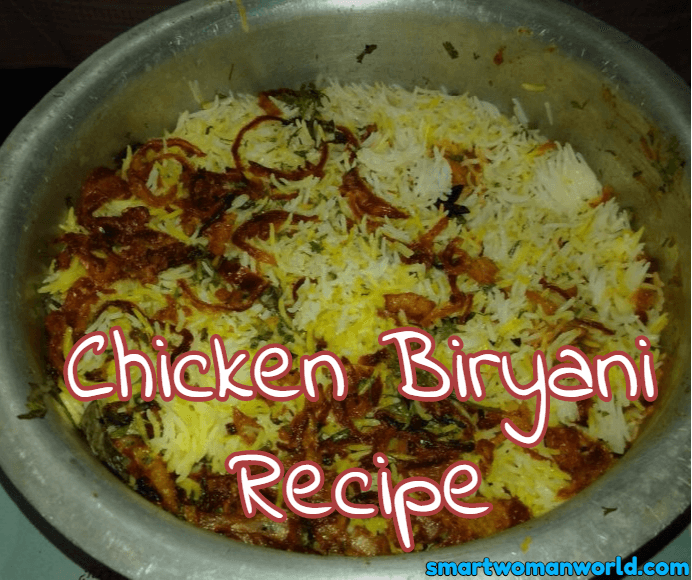 East Chicken Biryani Recipe