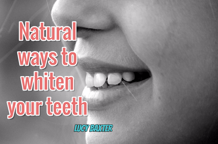 natural ways to whiten the teeth