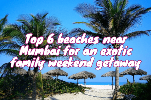 Top 5 beaches near Mumbai for an exotic weekend getaway