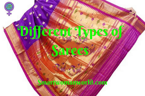 Different Types of Sarees
