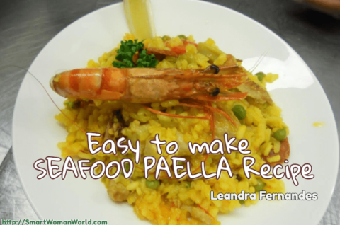 Easy to make Seafood Paella recipe