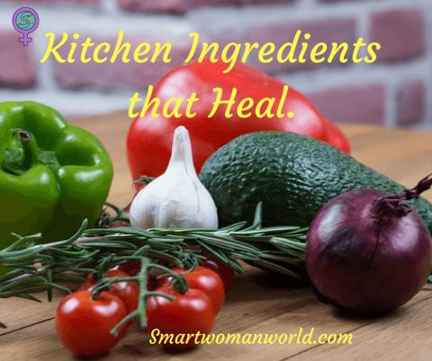 Kitchen Ingredients that Heal