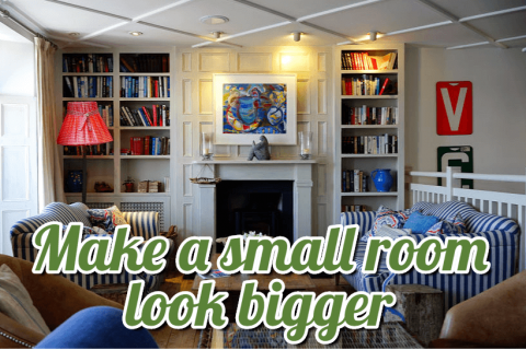 Make a small room look bigger