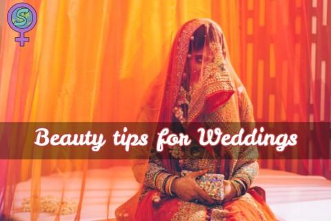 Beauty tips for Indian weddings