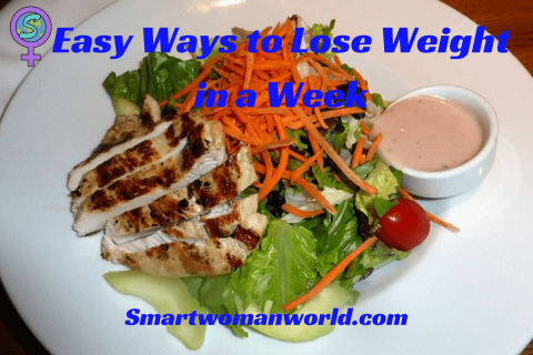 Easy Ways to Lose Weight in a Week