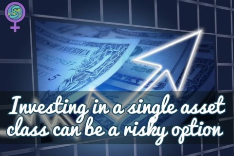Investing in a single asset class can be a risky option