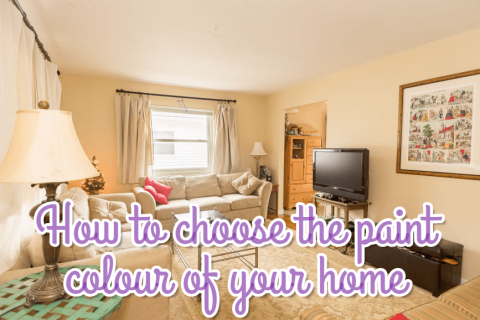How to choose the paint colour of your home