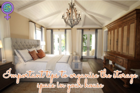 Important tips to organise the storage space in your house