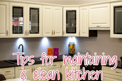 Tips for maintaining a clean kitchen