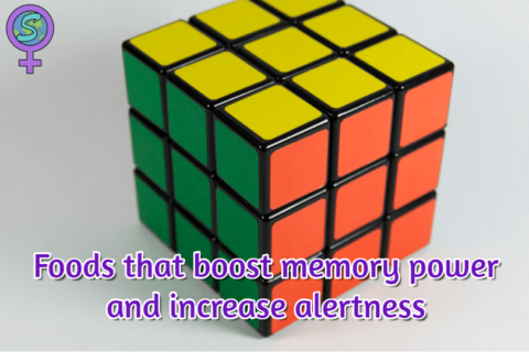 Foods that boost memory power and increase alertness