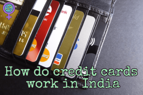 How do credit cards work in India