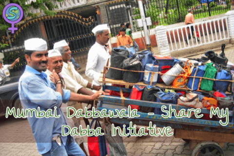 "Mumbai Dabbawala – ""Share My Dabba "" Initiative"