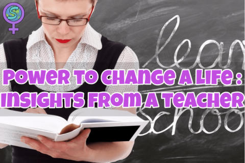 Power to change a life: Insights from a teacher