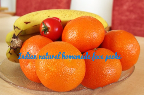 Indian natural homemade face packs