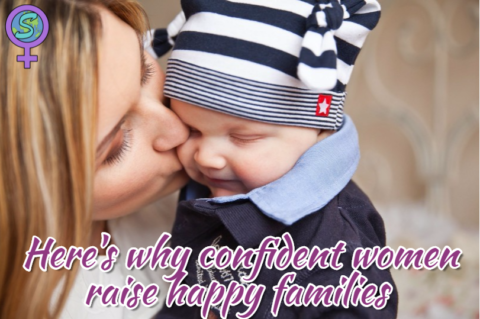 Here's why confident women raise happy families