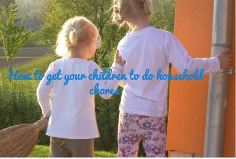How to get your children to do household chores
