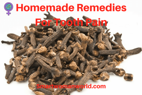 Homemade Remedies For Tooth Pain