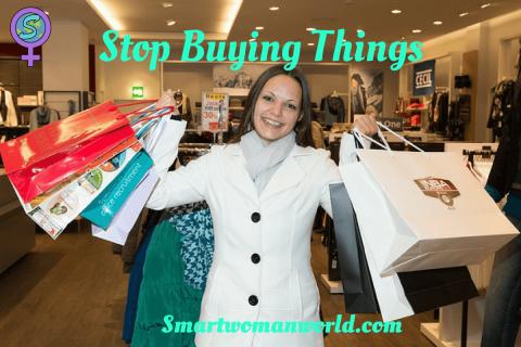 Stop Buying Things