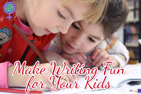 Make Writing Fun for Your Kids