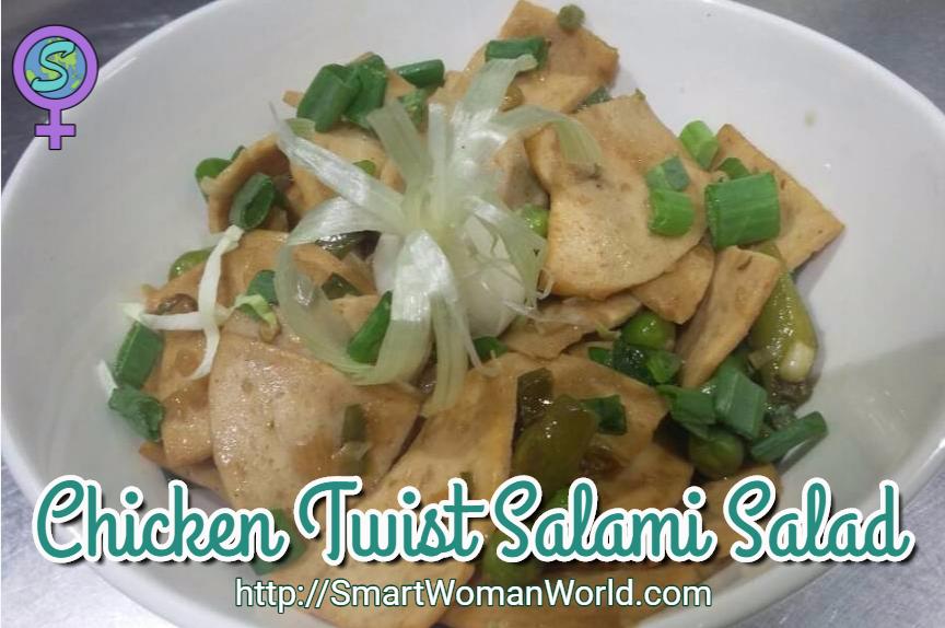 Chicken Twist Salami Salad
