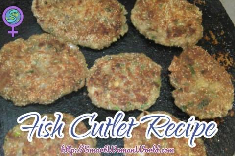 Fish Cutlet Recipe