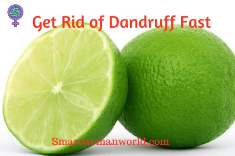 Get Rid of Dandruff Fast