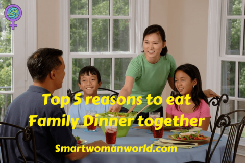 Top 5 reasons to eat dinner as a family