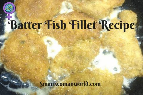 Batter Fish Fillet Recipe