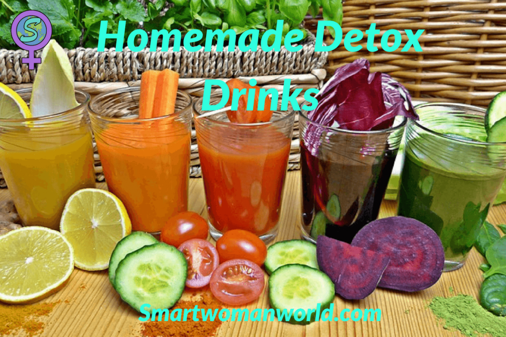 Homemade Detox Drinks: 10 Easy Drinks