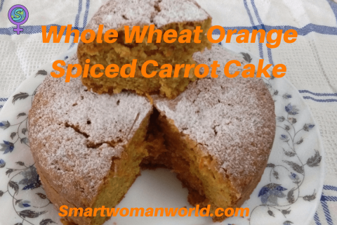 Whole Wheat Orange Spiced Carrot Cake