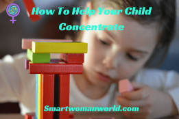 How To Help Your Child Concentrate