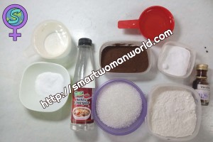 One Bowl Chocolate Cake Ingredients