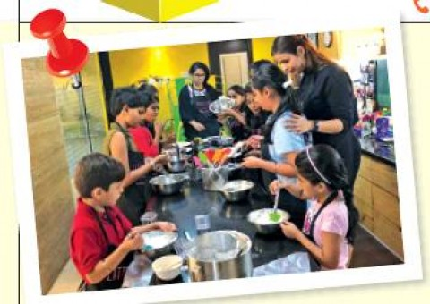 Kids Just Wanna Have Fun- For the tiny Master Chefs