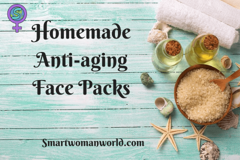 Homemade Anti-aging Face Packs