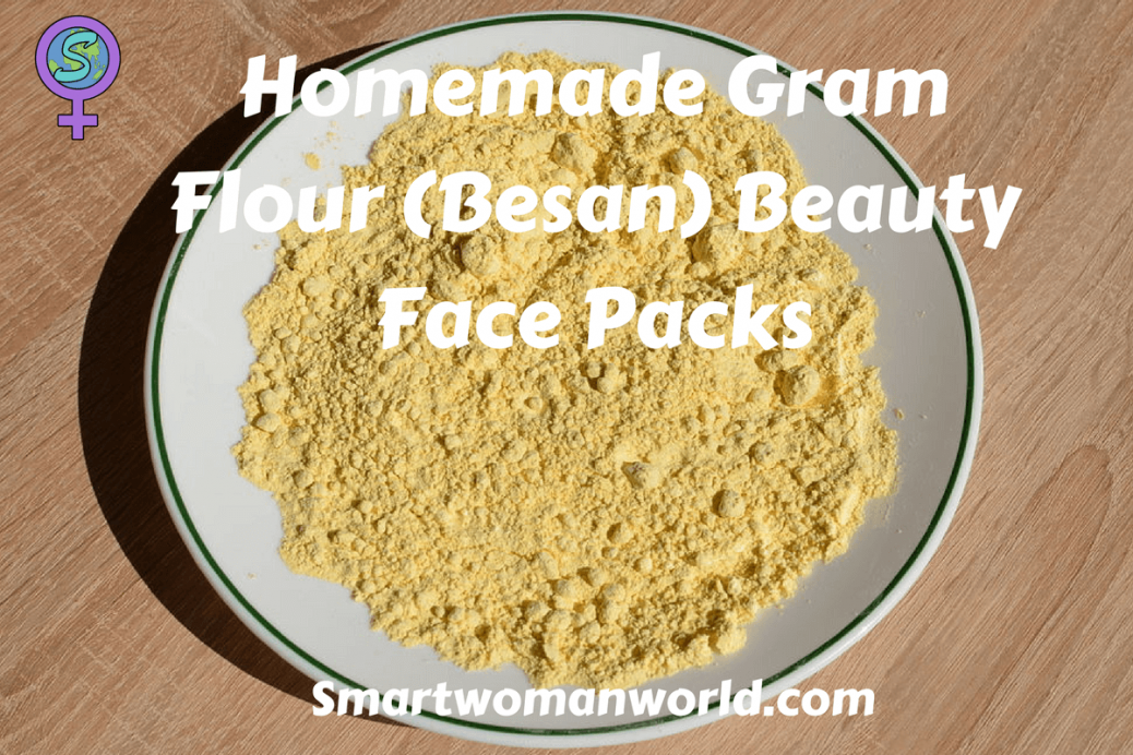 Homemade Gram Flour (Besan) Beauty Face Packs