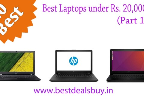 Best Laptops Under Rs 20000/- Part 1