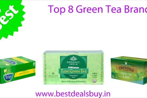 Top 7 Green Tea Brands available in India