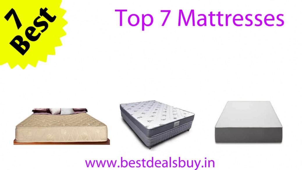 Top 7 Mattresses